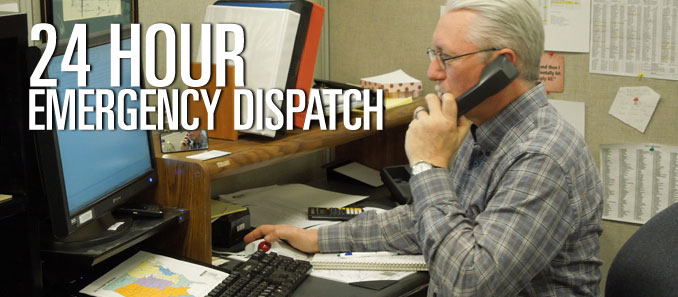 24 Hour Emergency Dispatch